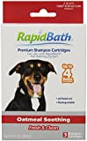 HydroSurge Rapid Bath Oatmeal Soothing Animal Shampoo Cartridges, 3/pack
