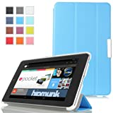 MoKo Ultra Slim Lightweight Smart-shell Stand Case For Google Nexus 7 Inch Tablet By ASUS BLUE (with Smart Cover...