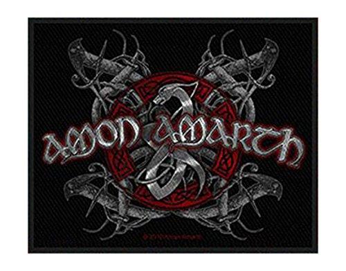 Amon Amarth - Viking Dog - Toppa/Patch - SPEDIZIONE GRATUITA