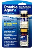 Potable Aqua Water Purification Tablets with PA Plus (Pack of 2)