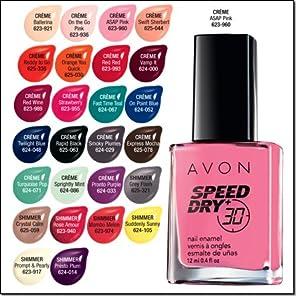 Amazon Com Avon Speed Dry 30 Nail Enamel Express Mocha Beauty