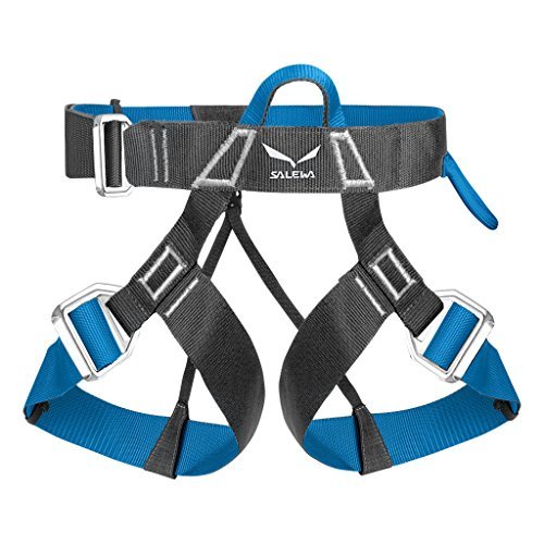 Via Ferrata Evo Harness - carbon polar blue