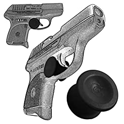 2 Pack Ruger LCP 380 Quick Release Concealed Carry Micro Holster Trigger Stop by Garrison Grip Black