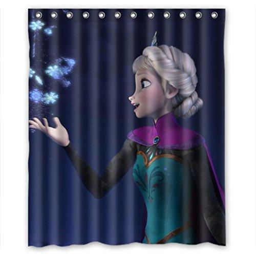 "Sale alerts for Malcolm-Fashion Disney Cartoon Animation Frozen Soft Comfort Shower Curtain Measure 60""(w)¡Á72""(h) - Covvet"