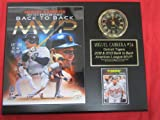 Miguel Cabrera Detroit Tigers BACK to BACK MVP Collectors Clock Plaque w/8x10 Photo and Card at Amazon.com