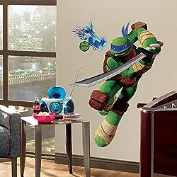 Teenage Mutant Ninja Turtles Leonardo Wall Decal 27 x37