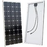 ECO-WORTHY 100 Watt 100w Monocrystalline Solar Panel PV Module 12 Volt 12V Battery Charger for Solar Power System