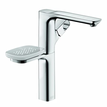 Axor 11034001  Urquiola Single-Hole Faucet, Tall, without Pop-Up, Chrome