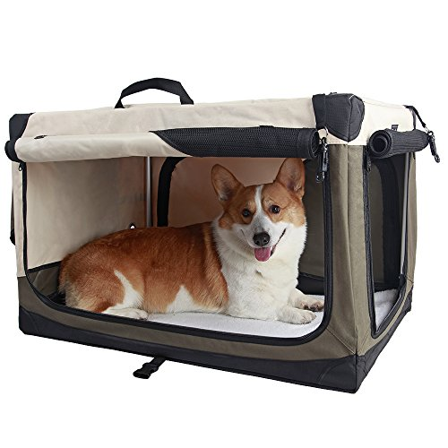 Travel Pet Home Indoor Outdoor Portable Foldable Home Collapsible Soft Dog Crate Doggie House