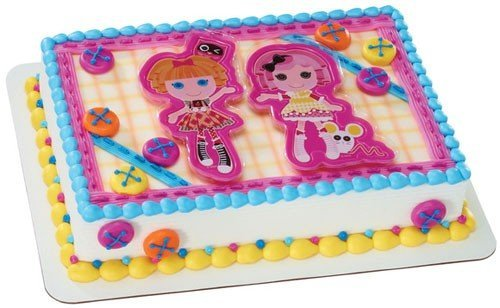 Decopac Lalaloopsy Let's Bake DecoSet Cake Topper - 1