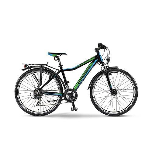 Winora dash 26 Zoll 21-G TX35 (2015) - schwarz/grün/blau - Rh 45 cm