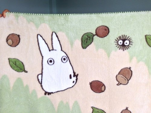 Review Studio Ghibli My Neighbor Totoro Studio Soft Blanket Single Japan Import