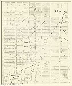 Historic City Maps - NEW YORK CITY OLD FARMS (NY) LANDOWNER MAP BY R. COOKE 1831 - Matte Art Paper