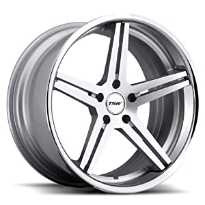TSW Mirabeau Silver Wheel with Chrome Lip Finish (19″x10.5″/5x120mm)