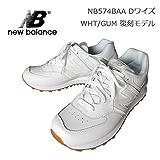 NEW BALANCE (ニューバランス) スニーカー [メンズ] 【WHT/US9.5(27.5cm)】 WHITE ホワイト レザー Dワイズ 27.5cm(US9.5),WHT