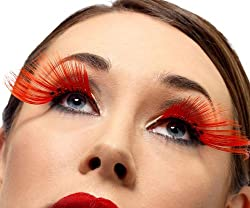 Fever Womens Eyelashes With Diamante Long Contains Glue In Display Box