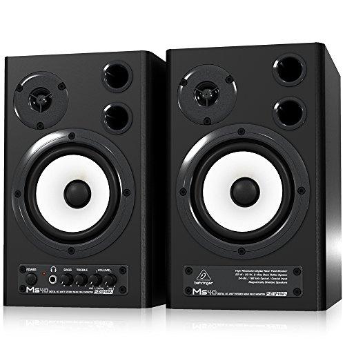 Behringer-MS40-Monitor-Speakers-Paar