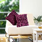 Eyda Purple - Cushion Cover