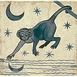 Monkey, by William De Morgan (V&A Custom Print)