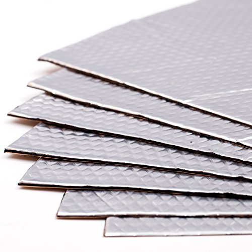 Noico 80 mil 36 sqft car Sound deadening mat, butyl automotive Sound Deadener, audio Noise Insulation and dampening (Truck Speakers In Door compare prices)