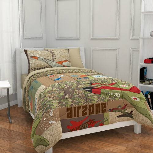 Full Size Camo Bedding 7899 front