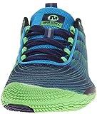 Merrell VAPOR GLOVE 2, Herren Outdoor Fitnessschuhe, Blau (RACER BLUE/BRIGHT GREEN), 44 EU -