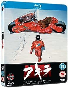 Akira - Collector's Edition Steelbook [Blu-ray + DVD] [1988] [UK Import]