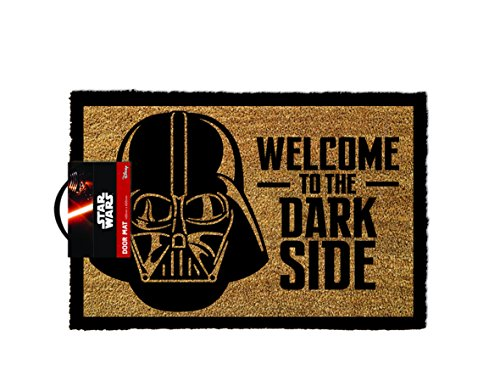 "STAR WARS ""Darth Vader Welcome to the Darkside"" Zerbino, colore: marrone"