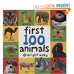 Big Board First 100 Animals (First Words)