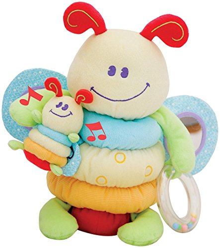 Little Bird Told Me LB3012 Burble Bee Musical Activity Crib Toy