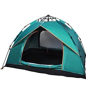 Haibei キャンプテント 2人用テント ワンタッチテント 設営簡単 高通気性 紫外線カット