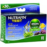Nutrafin A7835 Iron Test 0.0 to 1.0 Mg/L for Fresh and Saltwater, 50-Tests