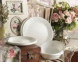 Corelle-Embossed-Bella-Faenza-16-Piece-Dinnerware-Set-Service-for-4-White