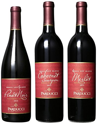 Parducci Wine Cellars Classic Reds Mixed Pack, 3 X 750 Ml