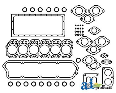 A & I Products Gasket, Rocker Cover Replacement For John Deere Part Number R1...