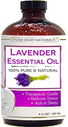 Lavender essential oil big 4 oz 100 pure natural for 7 jardins premium peppermint 100 pure natural therapeutic grade essential