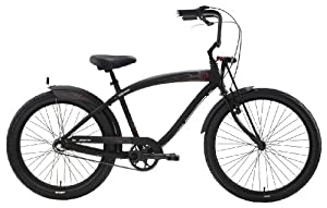 Nirve Pyro 3 speed Bicycle (Black)