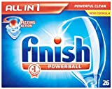 Finish All In 1 Original 7 x Pack of 26 (182 Dishwasher Tablets)