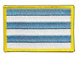 Estonia Tallinn Flag embroidered Iron-On Patch