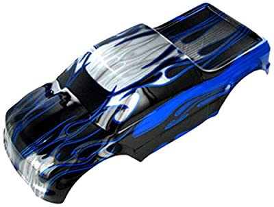 Redcat Racing Pickup Truck Body (1/10 Scale), Black/Blue