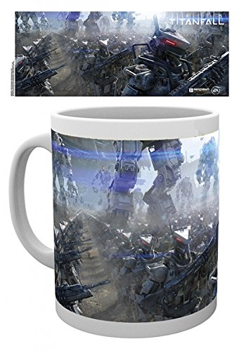 Set: Titanfall, The Imc Tazza Da Caffè Mug (9x8 cm) E 1 Sticker Sorpresa 1art1®