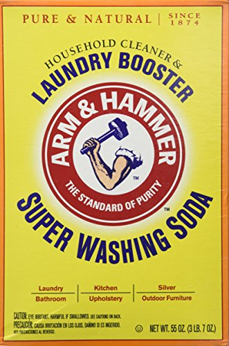 Church & Dwight Co 03020 Arm & Hammer Super Washing Soda 55 oz. (Pack of 3) (Super Baking Soda compare prices)