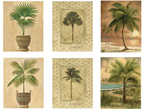 6-Tropical-Palm-Tree-Art-Prints-Beachy-Feel-Home-Decor