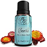 Soothe Muscle Relief Blend by Ovvio Oils-Natural Arthritis Pain And Joint Soothing Essential Oils Formula - Blend Of 100% Pure Therapeutic Grade Peppermint, Ginger and Roman Chamomile - Ultra Strength Muscle Rub and Relaxer - Large 15ml - Naturally Ease T