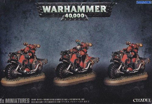 Chaos Space Marines: Chaos Bikers (2014) (Chaos Space compare prices)