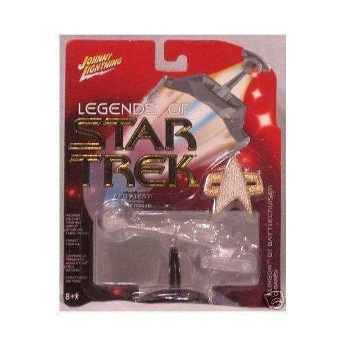 Johnny Lightning Legends of Star Trek Series two Klingon D7 Battlecruiser Cloaked