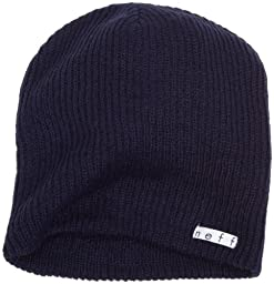 neff Men\'s Daily Beanie, Navy, One Size