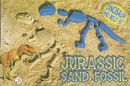 Dinosaur Bones Sand Mold Jurassic Fossil (10 Pce Set) - 1