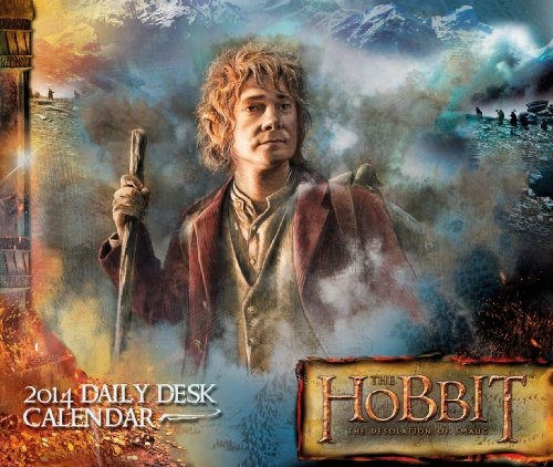 Official The Hobbit Desk Block 2014 Calendar