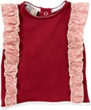 Shirley amp Victor Baby Girls39 The Elsa Top Baby - Syrah - 12-18 Months